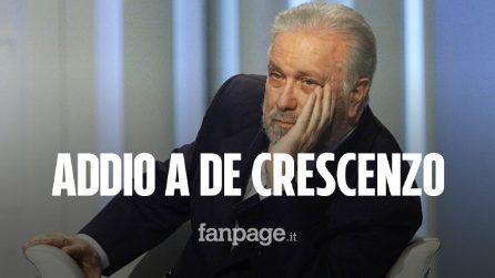 Luciano De Crescenzo è morto: Napoli piange il suo ingegnere filosofo, aveva 90 anni