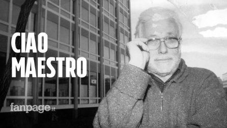"""È morto Luciano De Crescenzo, le lacrime dei napoletani: """"Ti ameremo per sempre"""""""