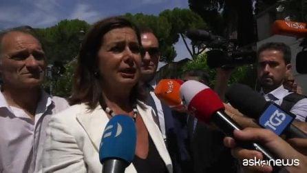 """Andrea Camilleri, il ricordo di Laura Boldrini: """"Era un uomo generoso"""""""