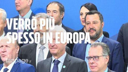 """Vertice Ue. Salvini torna in Europa: """"Il clima è cambiato, ora verrò più spesso"""""""