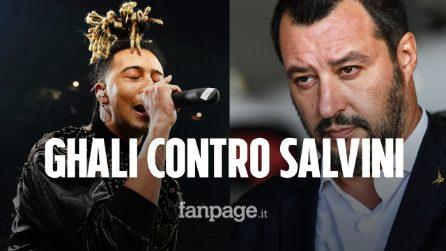Ghali remixa Vossi Bop di Stormzy e attacca Salvini: cosa dice la canzone