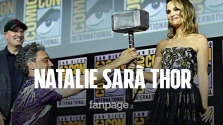Natalie Portman sarà Thor nel quarto film dedicato: la grande notizia al Comic Con di San Diego 2019
