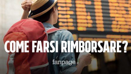 Caos treni tra Roma e Firenze: come chiedere il rimborso del biglietto Italo e Trenitalia