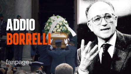 """Milano, i funerali di Francesco Saverio Borrelli: """"Non c'è stato mai più un procuratore come lui"""""""