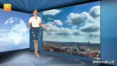 Previsioni meteo per mercoledì 31 luglio