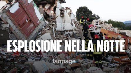 Esplosione nella notte sull'Isola d'Elba: crollata una palazzina, un morto e un disperso