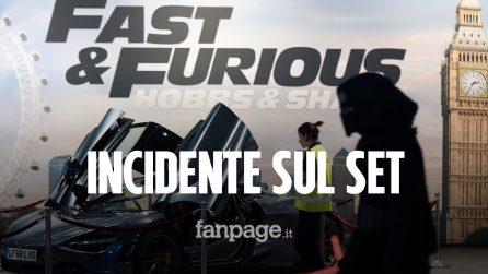 """Grave incidente sul set di """"Fast & Furious 9"""": la controfigura di Vin Diesel è grave"""