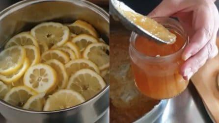 Marmellata di limone fatta in casa: la ricetta semplice e veloce