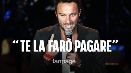 """Francesco Facchinetti infuriato su Instagram: """"Te la farò pagare fino alla fine dei tuoi giorni"""""""