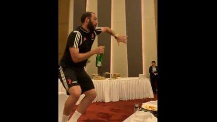"""Juventus, Higuain è più scatenato che mai: """"Che rompicogl**** che sono"""""""