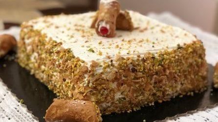 Tiramisù al cannolo siciliano: un dessert che conquisterà tutti i gusti