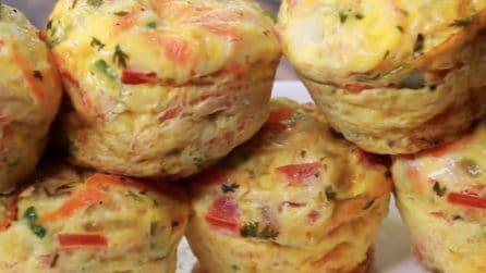 Omelette muffin: l'idea sfiziosa e saporita da servire ai tuoi ospiti