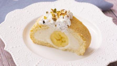 Rotolo cremoso alla banana: il dessert estivo perfetto per deliziare ogni palato!