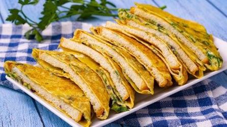Frittatina di pane: un'idea pratica, veloce e piena di sapore!