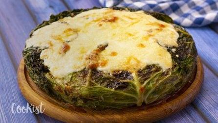 Cabbage lasagna: a juicy and delicioys main dish!