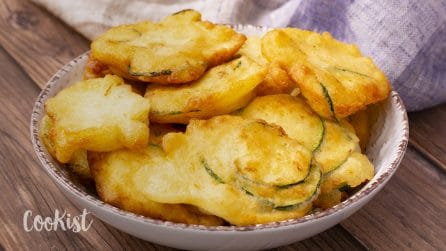 Zucchini clouds: fluffy and yummy ready in a few minutes!