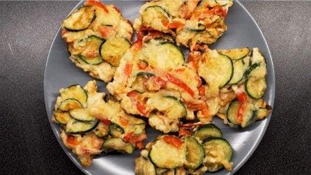 Frittelle di zucchine e peperoni: facili, sfiziose e irresistibili!