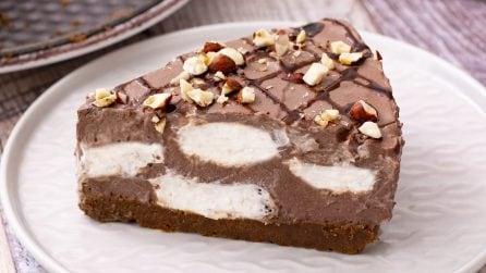 Cheesecake cocco e cioccolato: il dolce estivo che piacerà a grandi e piccini!