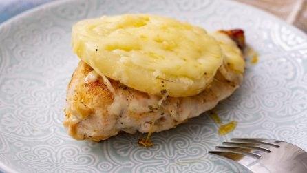 Petto di pollo all'ananas: il secondo piatto facile e gustoso!