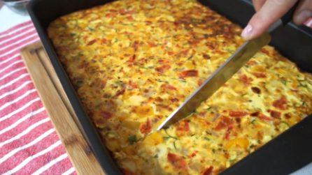 Frittata di verdure: un piatto completo, saporito e colorato