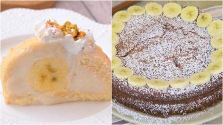 4 dolci con la banana che vi lasceranno senza parole!