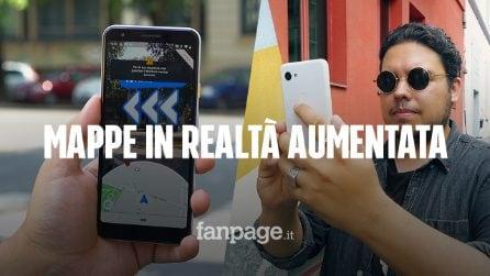 Abbiamo provato Google Maps in realtà aumentata