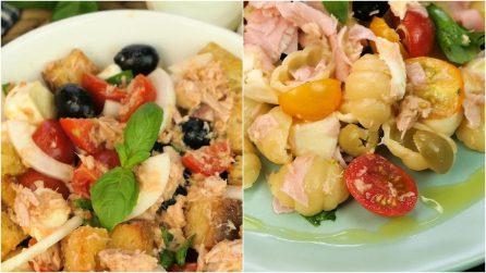 3 idee estive per un pranzo sfizioso e saporito in pochi passi!