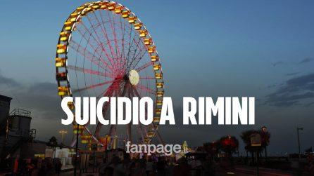 Suicidio choc a Rimini: giovane si getta nudo dalla ruota panoramica