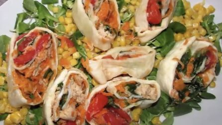 Sfoglia di mozzarella: ideale come secondo piatto o antipasto