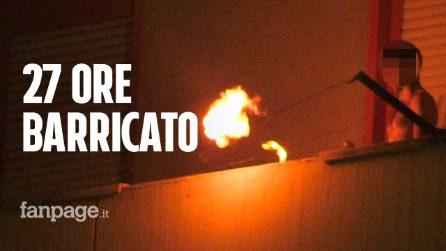Minaccia di far saltare in aria il palazzo: nella notte blitz dei reparti speciali a Pozzuoli