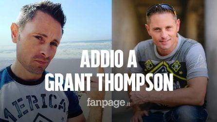 Morto Grant Thompson, lo youtuber precipita mentre fa parapendio: aveva 38 anni