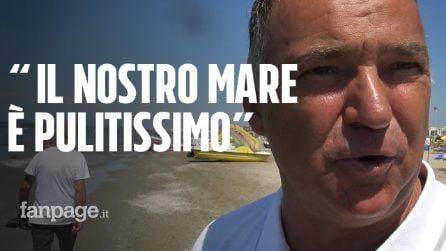 """Escherichia coli a Rimini, c'è chi fa il bagno nonostante il divieto: """"Anche i bimbi in acqua"""""""