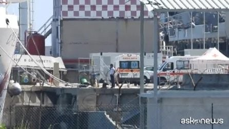Caso Gregoretti, sbarcati dalla nave della Guardia costiera italiana i 116 migranti