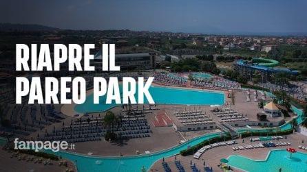 """Riapre il Pareo Park di Napoli: """"Da oggi le acque più pulite d'Europa"""""""