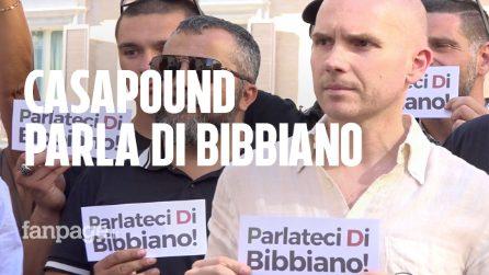 Casapound manifesta per Bibiano. Ma la protesta è un flop