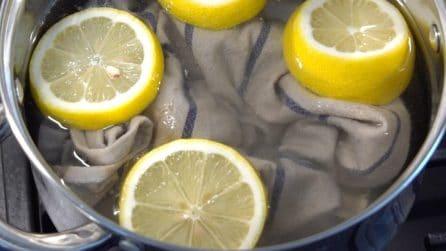 Come eliminare le macchie più resistenti con un limone: 3 trucchi da provare subito!