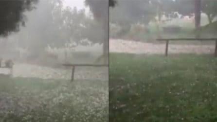 Treviso, downburst con grandine: il forte maltempo si abbatte sulla città