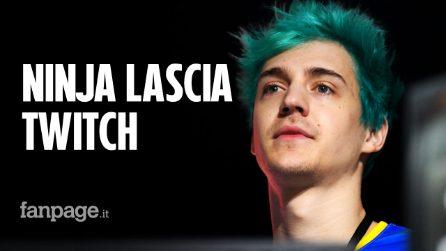 Ninja lascia ufficialmente Twitch: ecco dove si vedranno i suoi streaming di Fortnite