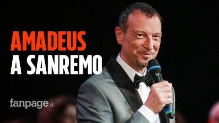 Amadeus a Sanremo, ora è ufficiale: sarà conduttore e direttore artistico del Festival