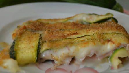Parmigiana di zucchine light: la ricetta fresca, leggera e squisita