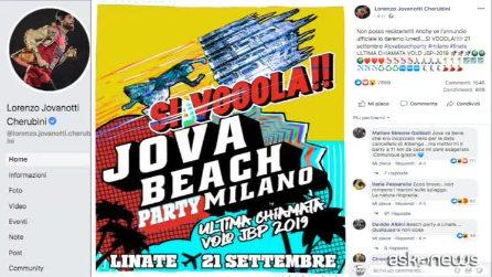 A Linate l'ultimo Jova Beach Party 2019, l'evento previsto il 21 settembre