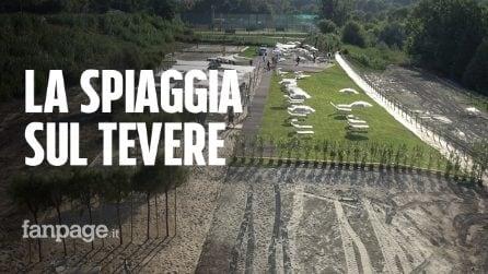 Roma, torna la spiaggia Tiberis: cosa troveranno i romani