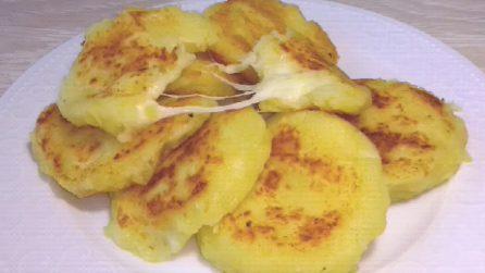 Mini gateau di patate cotti in padella: veloci e buonissimi