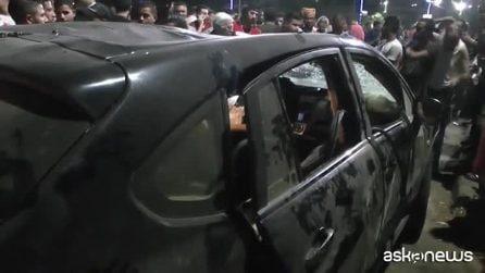 Egitto, auto lanciata contromano provoca esplosione: 19 morti