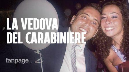 """Carabiniere ucciso, la vedova Cerciello: """"Mai detto a Mario di non andare a lavorare quella sera"""""""
