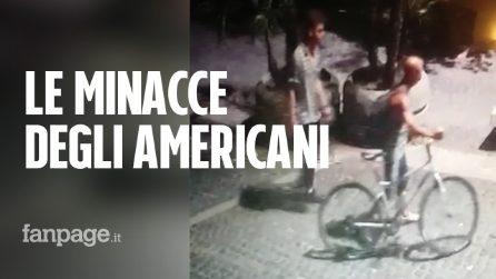 """Le minacce degli americani a Brugiatelli: """"Non sai con chi hai a che fare, sappiamo dove abiti"""""""