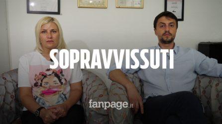 """Ponte Morandi, la storia di Natalia ed Eugeniu: """"Stavamo per morire, la nostra vita è cambiata"""""""