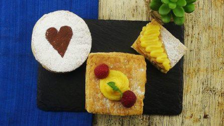 Millefoglie mignon: 3 idee per un dolcetto sfizioso e facile da realizzare!