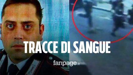 Carabiniere ucciso: trovate tracce di sangue e impronte nella camera d'albergo di Elder e Natale