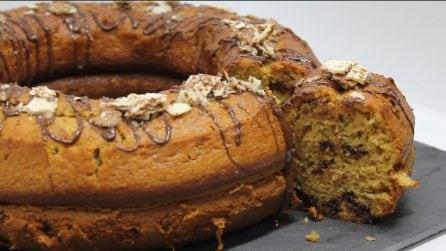 Ciambella caffè e cioccolato: perfetta per colazione o merenda